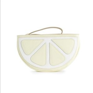 🔥Trendy Lauren Conrad lemon Wristlet 🔥